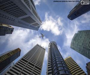Rompicapo di Grattacieli di Singapore