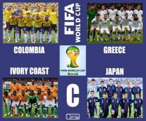 Rompicapo di Gruppo C, Brasile 2014
