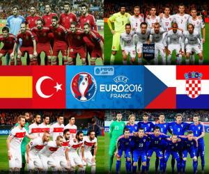 Rompicapo di Gruppo D, Euro 2016