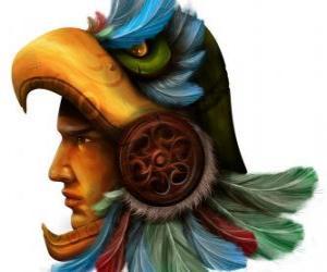 Rompicapo di Guerriero azteco