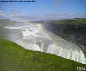 Rompicapo di Gullfoss, Islanda