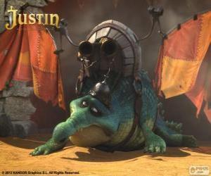 Rompicapo di Gustav. Un coccodrillo che vuole volare ed essere un drago