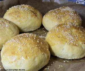 Rompicapo di Hamburger di pane