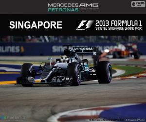 Rompicapo di Hamilton, GP Singapore 2016