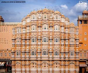 Rompicapo di Hawa Mahal, India