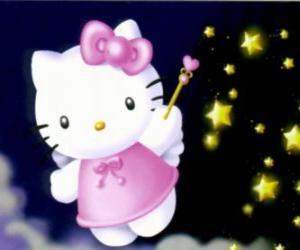 Rompicapo di Hello Kitty è una fata tra le stelle