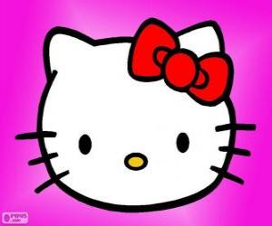 Rompicapo di Hello Kitty felice