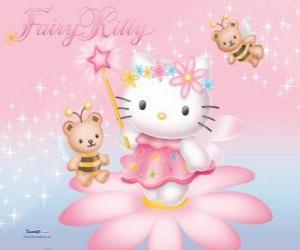 Rompicapo di Hello Kitty, la fata giardino