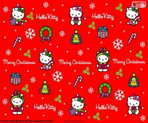 Rompicapo di Hello Kitty Natale