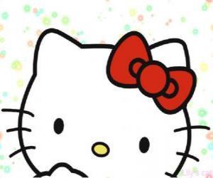 Rompicapo di Hello Kitty viso
