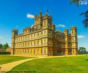 Rompicapo di Highclere Castle, Inghilterra