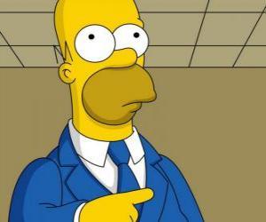 Rompicapo di Homer Simpson molto elegante
