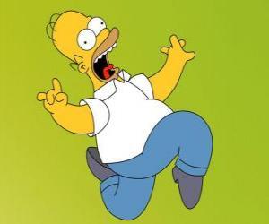 Rompicapo di Homer Simpson scappa spaventata