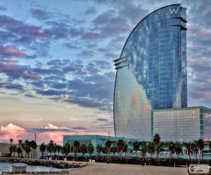 Rompicapo di Hotel W Barcelona