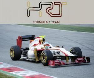 Rompicapo di HRT F112 - 2012 -