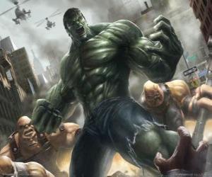Rompicapo di Hulk con una potenza praticamente illimitata è uno dei supereroi più famosi