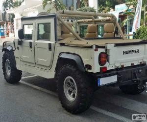 Rompicapo di Hummer H1 Cabrio