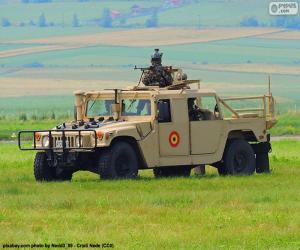 Rompicapo di Hummer militare