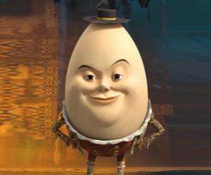 Rompicapo di Humpty Dumpty, vecchio amico dil Gatto con gli Stivali