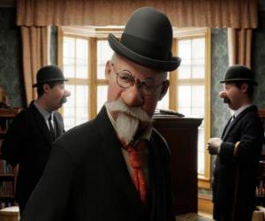 Rompicapo di I detective Thomson e Thompson in Silk