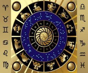 Rompicapo di I dodici segni dello zodiaco, il Cerchio dello Zodiaco