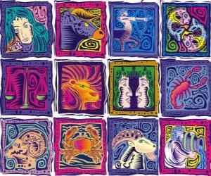 Rompicapo di I dodici segni dello zodiaco