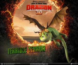 Rompicapo di I draghi più piccoli sono i Terribile Terrore, si trovano di solito in branchi