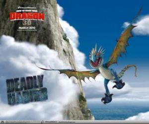 Rompicapo di I draghi Uncinato Mortale sono veloci e agili nell'aria e può volare per lunghe distanze