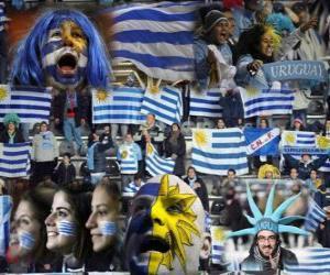 Rompicapo di I fan di Uruguay, Argentina 2011