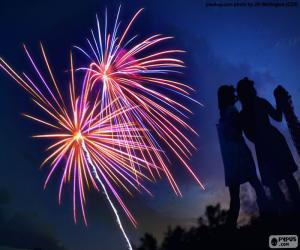 Rompicapo di I fuochi d'artificio