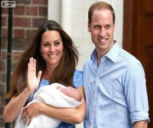 Rompicapo di I principi William e Kate e il suo primogenito