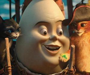 Rompicapo di I protagonisti, Gatto con gli stivali, Humpty e Kitty