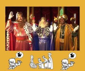 Rompicapo di I Re Magi, Melchiorre, Baldassarre e Gaspare