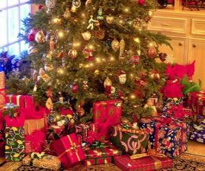 Rompicapo di I regali sotto l'albero di Natale