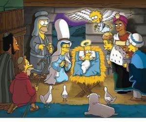 Rompicapo di I Simpson nella mangiatoia