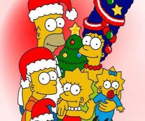 Rompicapo di I Simpson si desidera Buon Natale