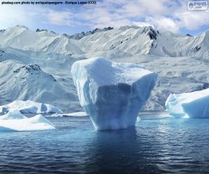 Rompicapo di Iceberg in riva al mare