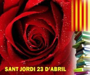 Rompicapo di Il 23 aprile, giorno di San Giorgio si celebra in Catalogna il Festival del Libro e della Rosa