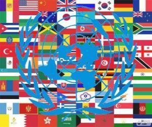 Rompicapo di Il 24 ottobre è la Giornata delle Nazioni Unite, per commemorare la sua fondazione nel 1945