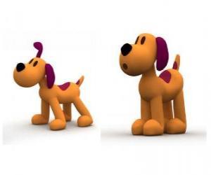 Rompicapo di Il cane Loula è la mascotte di Pocoyo