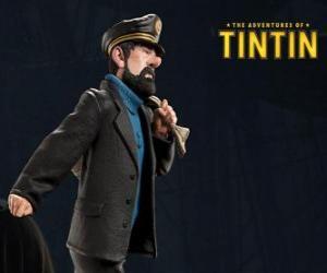 Rompicapo di Il capitano Archibald Haddock  è il migliore amico di Tintin