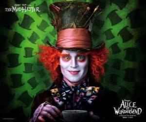 Rompicapo di Il Cappellaio Matto (Johnny Depp), un personaggio che aiuta Alice