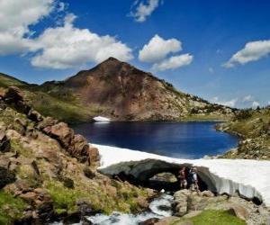 Rompicapo di Il Carlit è la vetta più alta del dipartimento francese dei Pirenei Orientali