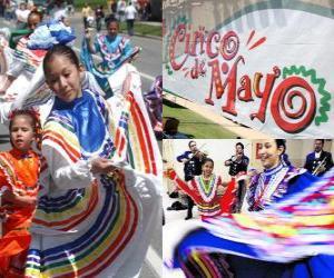 Rompicapo di Il Cinco de Mayo si celebra il 5 maggio in Messico e negli Stati Uniti per commemorare la battaglia di Puebla 1862