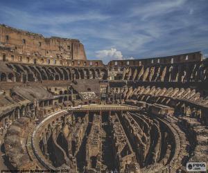 Rompicapo di Il Colosseo, interni