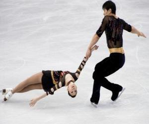 Rompicapo di Il concorso di coppia è una delle discipline dil pattinaggio di figura
