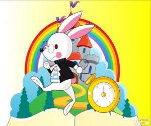Rompicapo di Il coniglio bianco, Bianconiglio sempre di fretta