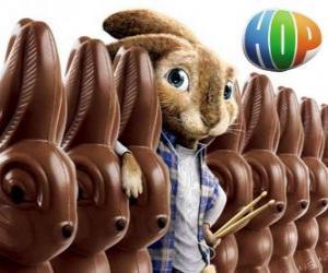 Rompicapo di Il coniglio EB dovrebbe succedere al padre come il coniglietto di Pasqua. Hop
