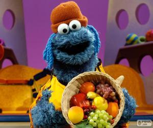 Rompicapo di Il Cookie Monster