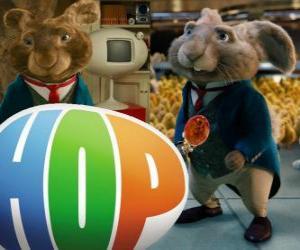 Rompicapo di Il corrente Coniglio Pasquale e il padre di EB. Hop